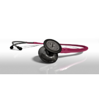 Littmann Cardiology IV Smoke Finish Raspberry Tube Stethoscope *NEW* 6178