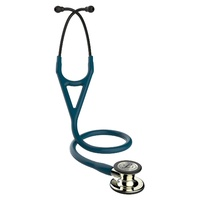 Littmann Cardiology IV Champagne Finish Caribbean Blue Tube Stethoscope *NEW* 6190